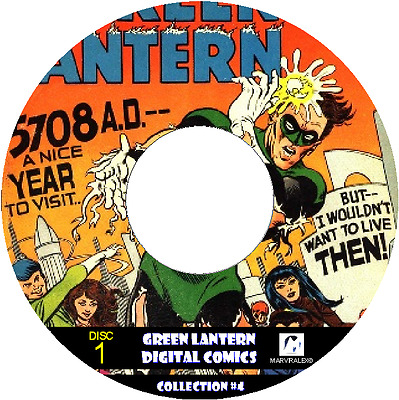 GREEN LANTERN 350 Issues from CLASSIC DIGITAL COMICS! ON 2 DVD