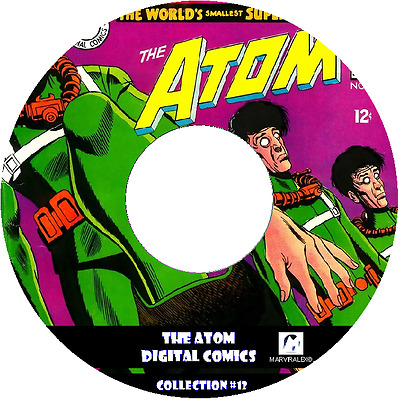 The Atom With 130 Issues Classics Comics On Dvd!