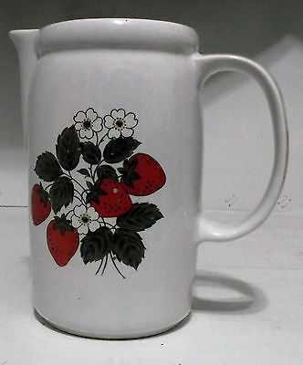 McCoy --  Strawberry -- 7 inch  pitcher 38 ounces #1429