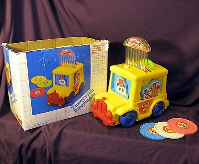 Tuneyville Pipewagon #1090 Preschool Tomy UPC 053941010904 Complete Working Set