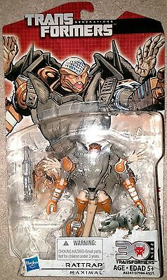 Transformers Generations Beast Wars Deluxe Rattrap MOSC