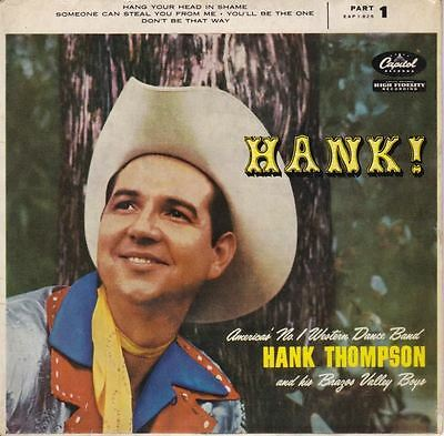 "Hank! (Part 1) 7"" : Hank Thompson And His Brazos Valley Boys"
