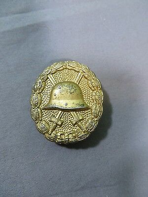 WWI WW1 German Gold Wound Badge - 5 Wound Gold Badge Germany 1914 1918