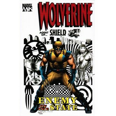 BD comics Marvel  Wolverine: Enemy of the State, Vol. 2