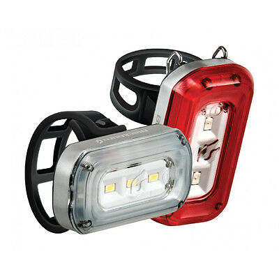 Blackburn Central 100 Front Light/ 20 Rear Light USB Rechargeable Bicycle Light