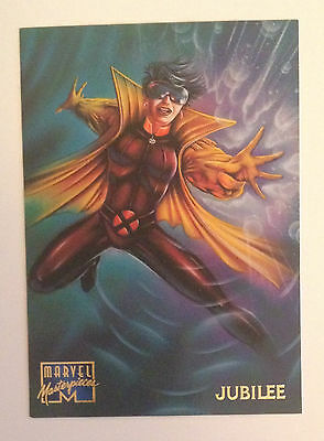 1995 Marvel Masterpieces card # 59 Jubilee