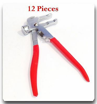 12 Pieces Wheel weight plier Wheel weight tire balancing tools Tire repair tools