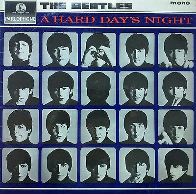 The Beatles A Hard Day's Night First British Edition Lp 1964 Pmc-1230 Parlophone