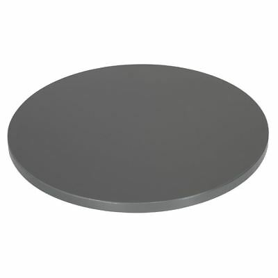 Lamidur Round Table Top Anthracite 25X600mm Kitchen Restaurant Cafe Dining