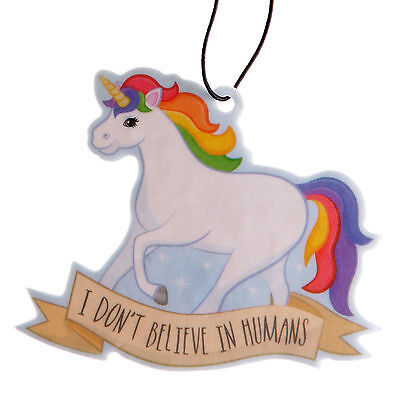 Car Hanging Accessories Novelty Presents Gifts Women Adults Unicorn Girly Items