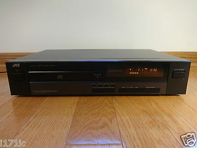 JVC XL-V131 Single CD Compact Disc Player 1990 TESTED 100% Works Great! CLEAN