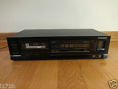 Pioneer CT-670 Stereo Cassette Deck 1986 Japan TESTED 100% Works Great! RARE!
