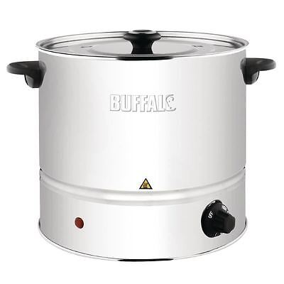 Buffalo Food Steamer Cooking Cookware Pot Kitchen Stainless Steel With Lid
