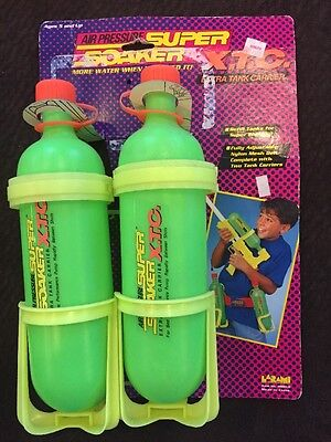 Super Soaker XTC Green Extra Tanks Bottle Resevoir Fits Super Soaker 50 No Belt