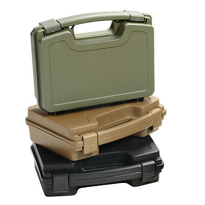 Pistol Gun ABS Hard Case Waterproof Plastic 26x20.5x8.3cm Injection Storage Bag