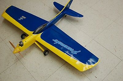 """Model Airplane Plans (UC): PEACEMAKER 47"""" Stunter for .15-.29 by George Aldrich"""