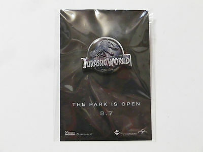 Jurassic World Pin JAPAN Movie Theater Bonus Not Sold in Stores