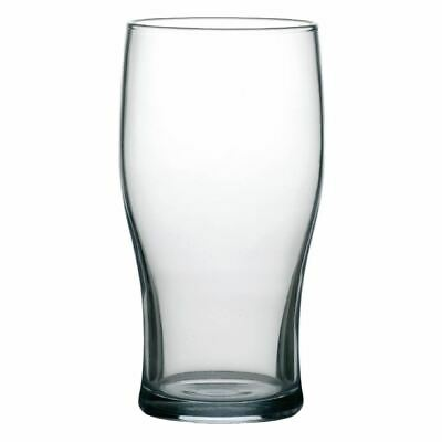 Arcoroc Tulip Beer Glasses in Clear Made of Tough Glass 20 oz / 570 ml