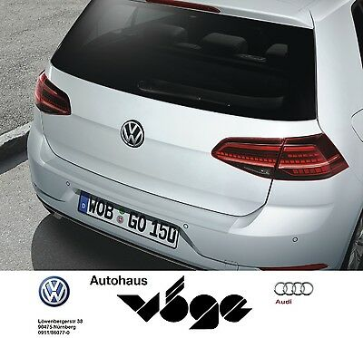Original VW Golf VII GP Facelift NEU! Ladekanten-Schutz transparent 5G0061197B