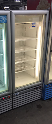 Mimet Glass Door Up-Right Ice Cream Display Freezer...