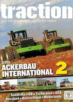 Dvd Traction Ackerbau International 2 Aco K700A Versatile Quadtrac Fendt 1050