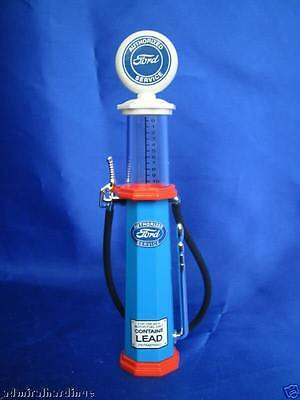 Ford Petrol Gas Pump Glass Body 1:18 98632 Yatming Road Signature Lucky Diecast
