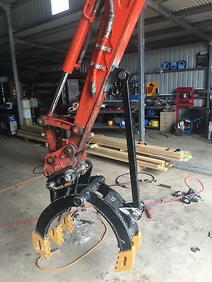 5T Excavator Grab Grapple Grabs All Sizes Heavy Duty Save Money Very Strong