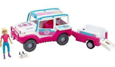 Animagic Animal Rescue Hospital Adventure Rescue 4x4 with Trailer & Doll 60178