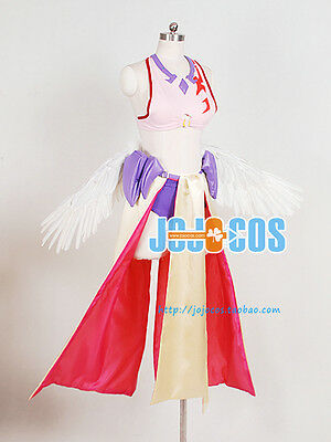 "NO GAME NO LIFE Jibril Cosplay Costume ""Close Number""Cosplay Dresses Custom Size"