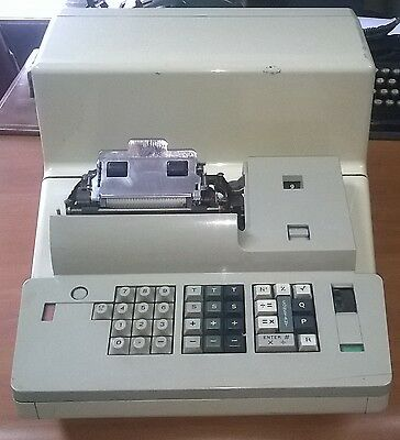 OLIVETTI Logos 328 @LA PRIMA CALCOLATRICE ELETTRONICA@ POST M1 RARE CALCULATOR n