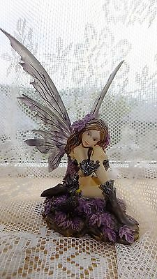 NEW Nemesis Now Fairy Heather Figure Ornament - Angel/Mythical/Gothic/Wings