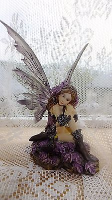 NEW Nemesis Now 'ORIGINAL' Fairy Heather Figure Ornament - Angel/Mythical/Gothic