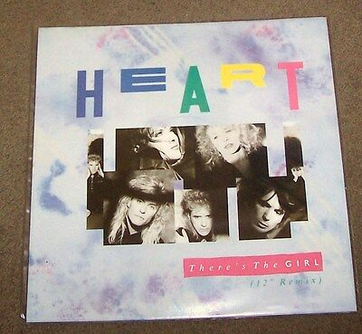 """heart there's the girl  12"""" vinyl single"""