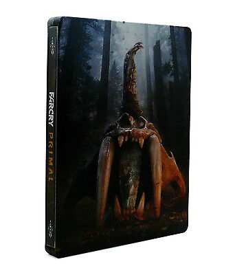 Far Cry Primal Steelbook + OST CD [Great Condition, Collector, NO GAME]