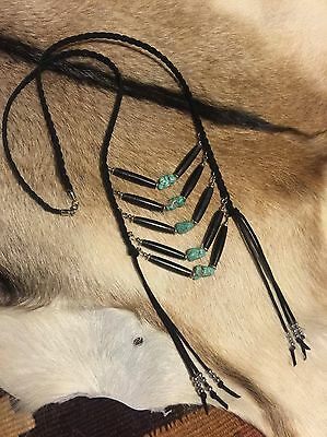 Handmade Breastplate Native American Inspired Jewellery Necklace Gypsy Bohemian
