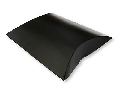100 Black Pillow Boxes Wedding Favours  Jewellery, Gifts