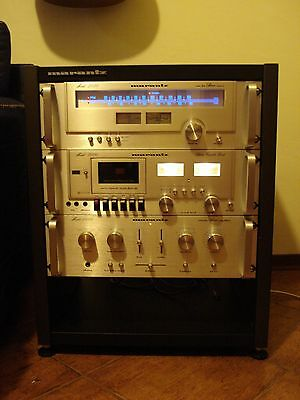 Marantz 1050, 2050 e 5000, Rack completo in mobile originale. Rarissimo!