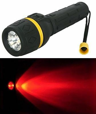 Red Light LED Astronomy Torch - Keep your night vision!