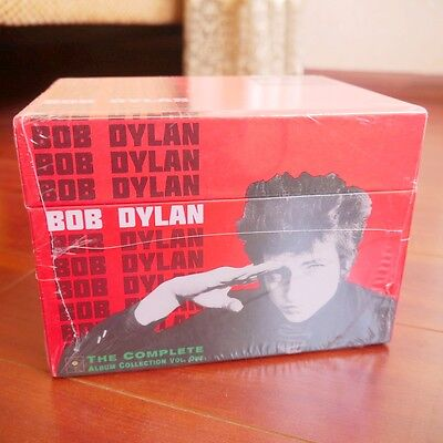 """NEW SEALED! Bob Dylan """"The Complete Album Collection"""" 47 CDs Colossal Box Set"""