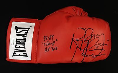 "RAY ""BOOM BOOM"" MANCINI SIGNED EVERLAST BOXING GLOVE w/82-84 CHAMP, HOF 2015-JSA"