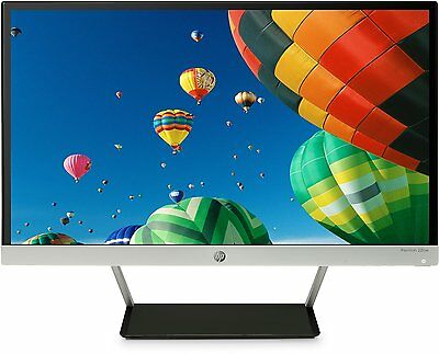 HP Pavilion 22cw 21.5 inch Full HD Widescreen LED Monitor, 7ms Response Time