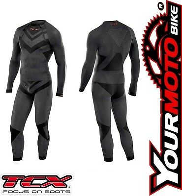 TCX Ultra Light Motorcycle Rider Base Layer Compression Under Suit One Piece