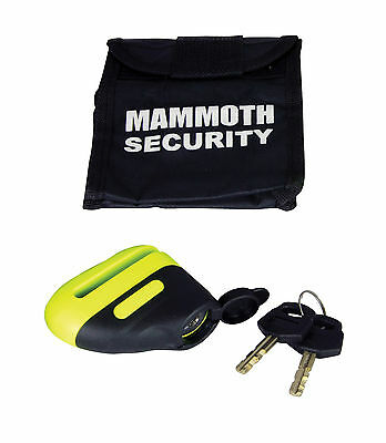 Mammoth Security Blast Motorcycle Disc Lock 10mm CLEARANCE SALE!!