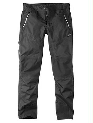 Madison Addict Mens Waterproof Trousers Black Size XL