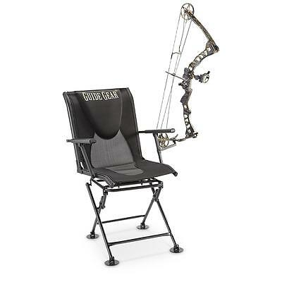 NEW! Swivel Hunting Blind Chair Guide Gear Comfort ground blind seat