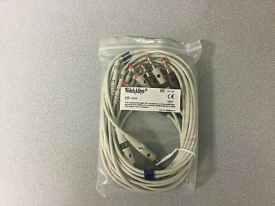 Welch Allyn 401129 Set(10) Lead Replaceable ,Aha,Banana,CP100/200 Price to Sell