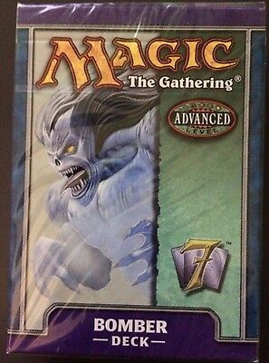 MTG 7th EDITION BOMBER (WATER-BLUE) THEME DECK FREE SHIP