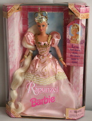 Rapunzel 1997 Barbie Doll Collectible