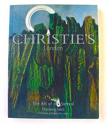 CHRISTIE'S London The Art Of The Surreal Evening Sale Auction Catalog 6 Feb 2001