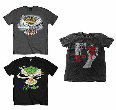 d478b346 Official Green Day Music Band T-Shirt Dookie Welcome To Paradise American  Idiot